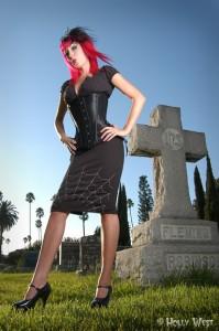 Zombie Kitten skirt
