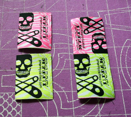 Woven clothing labels + a cheap trick | WhatTheCraft