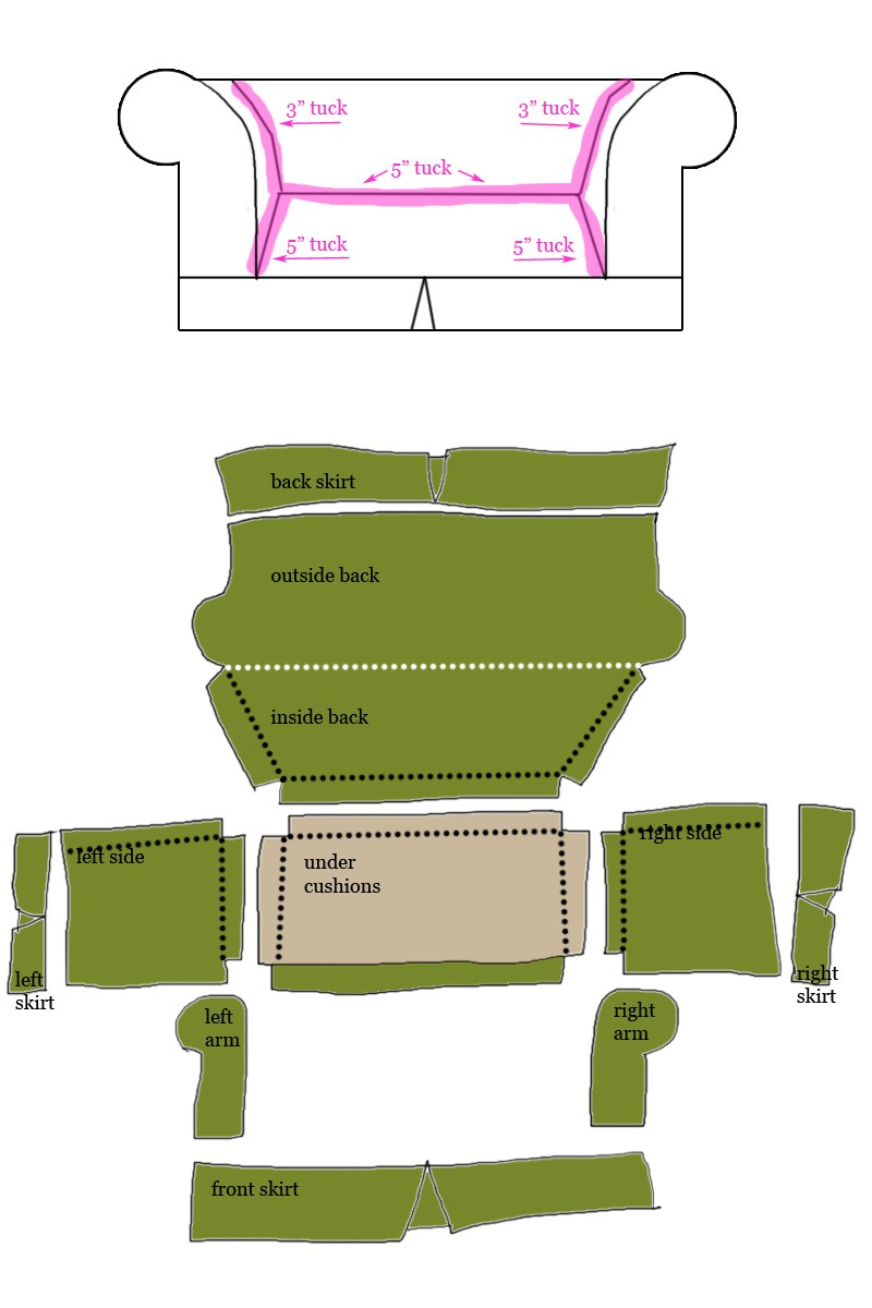 Swell How To Design And Sew A Slipcover Part 1 Diy Home Decor Machost Co Dining Chair Design Ideas Machostcouk