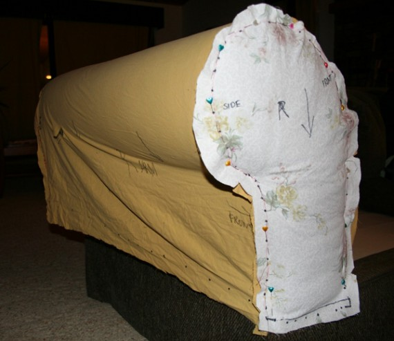 How To Sew A Slipcover, Part 2