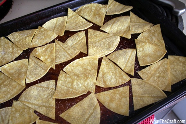 Recipe: Homemade Baked Tortilla Chips | WhatTheCraft
