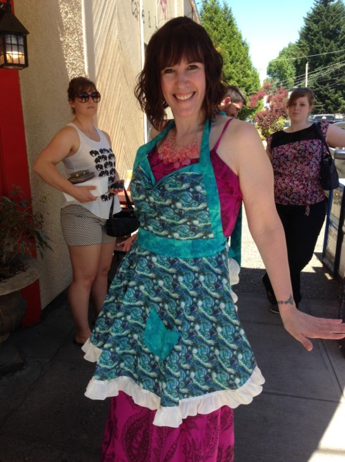 dr-who-apron-heather-posing
