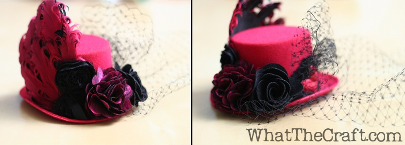 how to make a mini hat