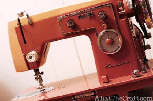 vintagepinksewingmachinekenmore
