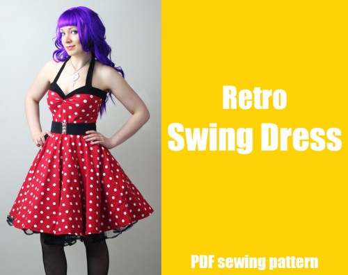 retro_rockabilly_swing_dress_pattern