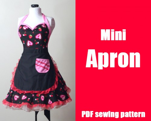 Free Mini Apron Pattern In The Shop Whatthecraft