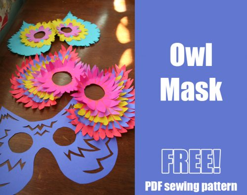 owl_mask_template_diy_free_halloween-500x396 Holes Letter Home Template on sample business, sample request, basic cover,