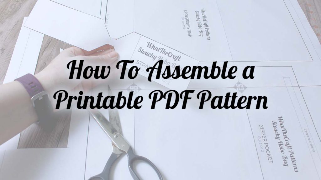 picture regarding Printable Pattern called How toward Acquire a WhatTheCraft Printable PDF Practice